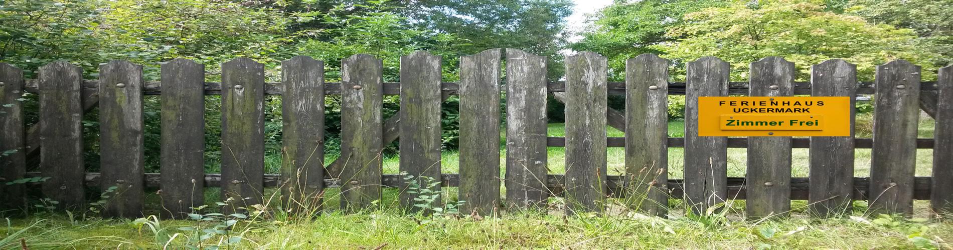 Mitten im Frieden und der Natur ruht das Ferien- und Gästehaus im Herzen der Urlauber- und Ferienregion Uckermark