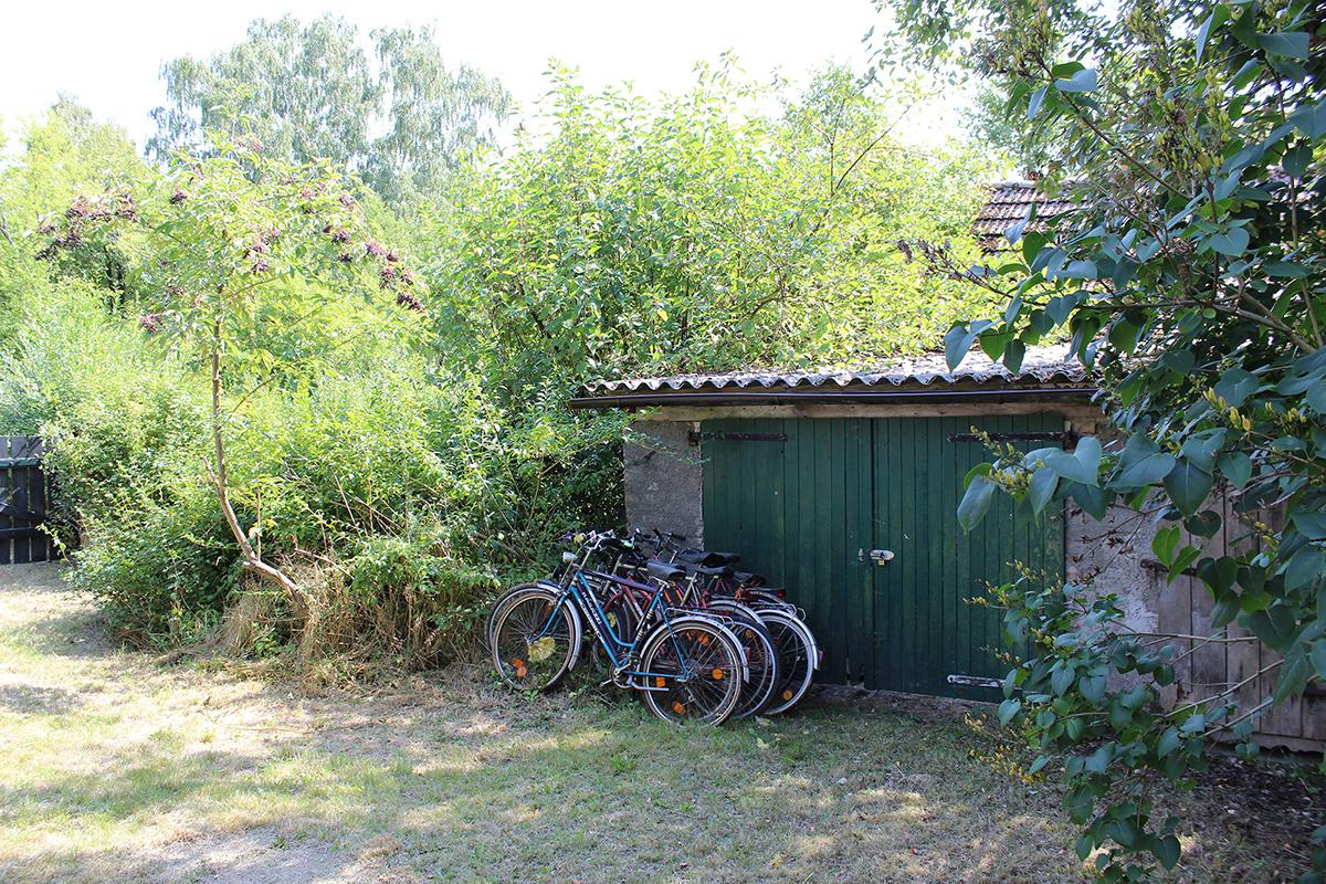 Ferienhaus-Uckermark Fahrradschuppen, Werkstatt und Gerätehaus... Es ist alles da für Ferien und Urlaub im Boitzenburger Land schon ab 29,- Euro pro Tag